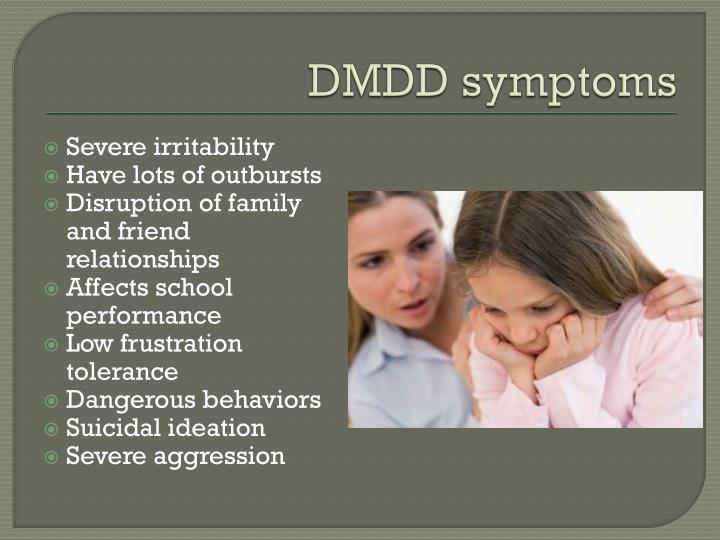 DMDD symptoms