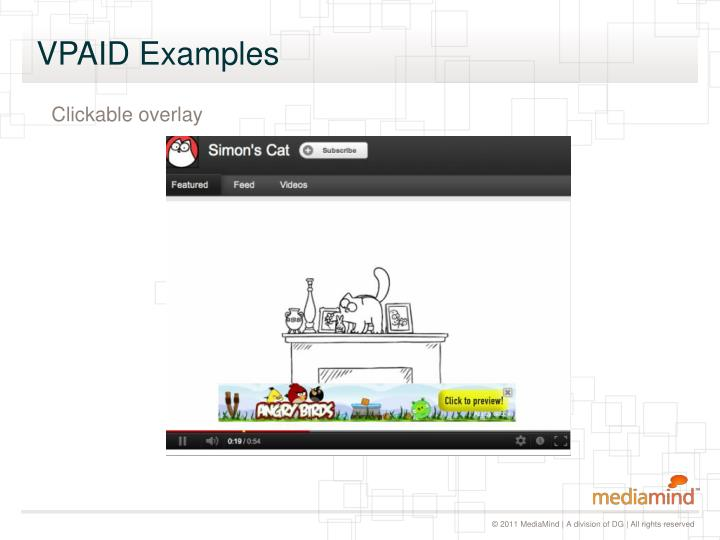 VPAID Examples