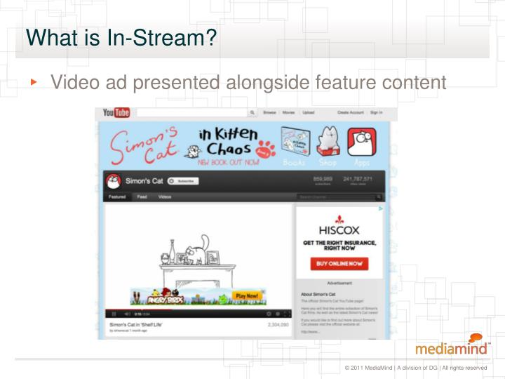 What is In-Stream?