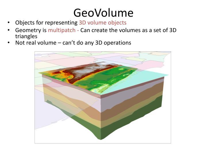 GeoVolume