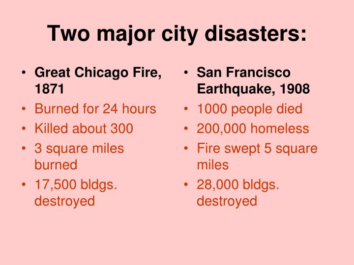 Great Chicago Fire, 1871