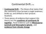 continental drift 17b
