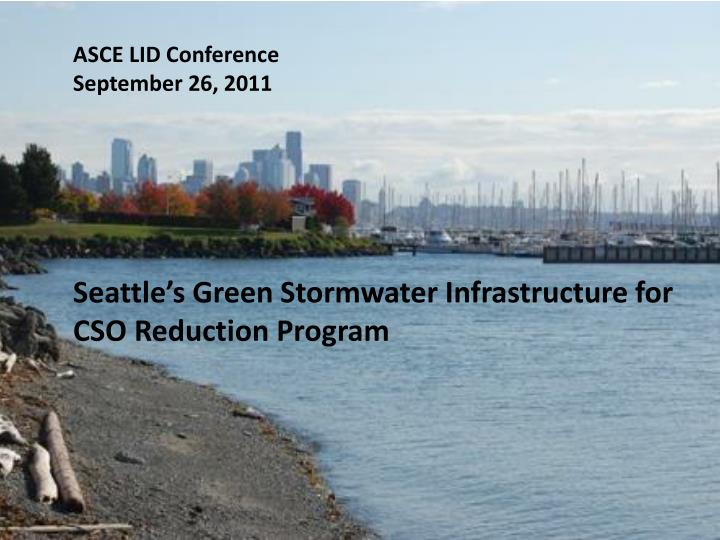 ASCE LID Conference