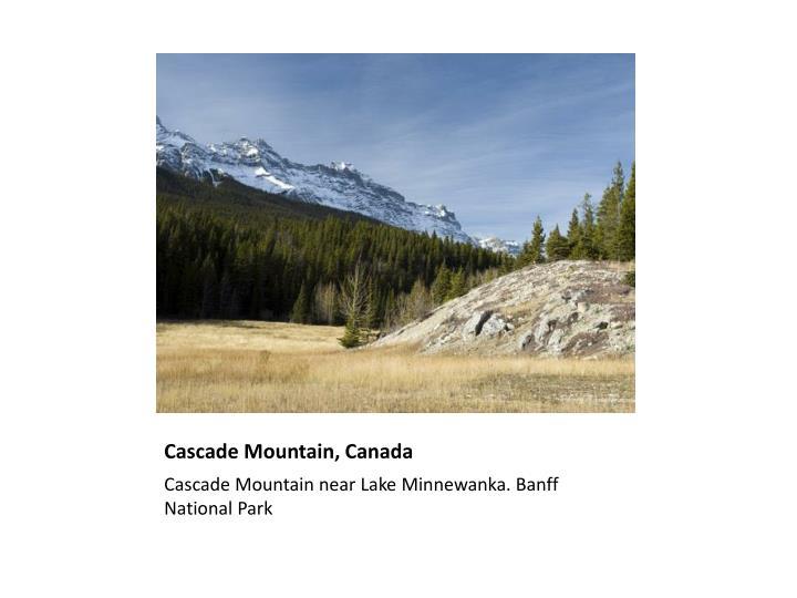 Cascade Mountain, Canada