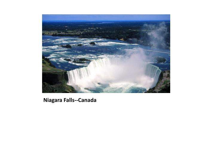 Niagara Falls--Canada