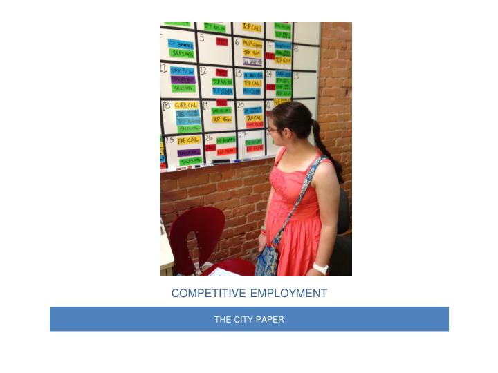 competitive employment