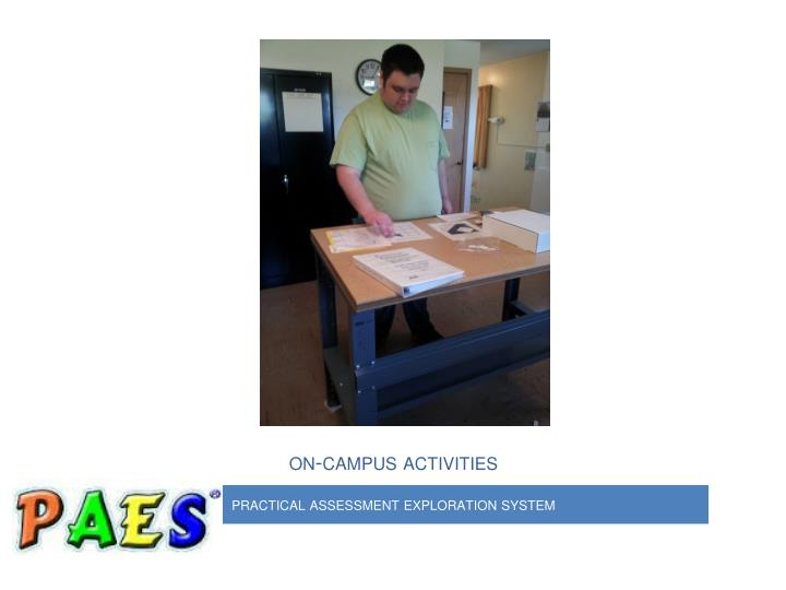 on-campus activities