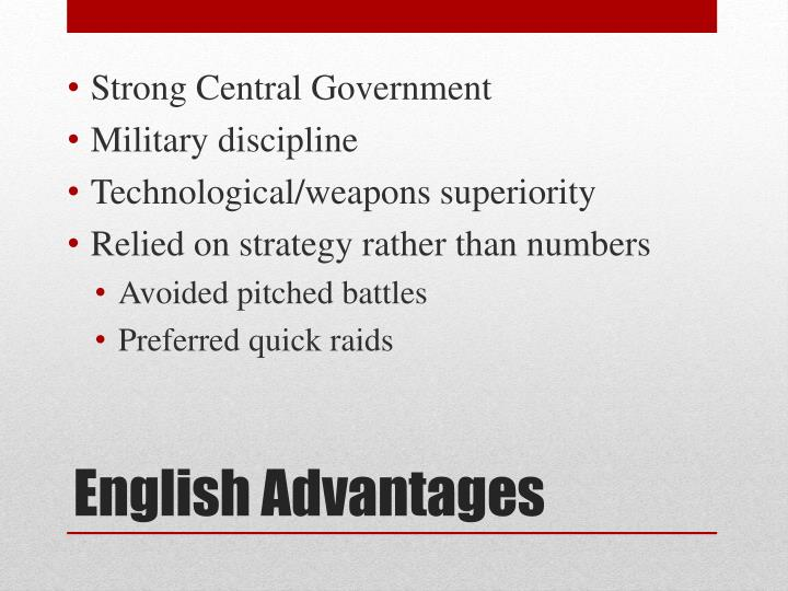 Strong Central Government