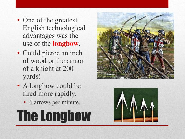 One of the greatest English technological advantages was