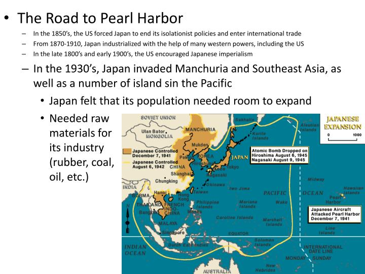 The Road to Pearl Harbor