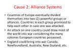 cause 2 alliance systems