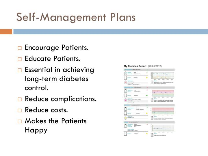 Self-Management Plans