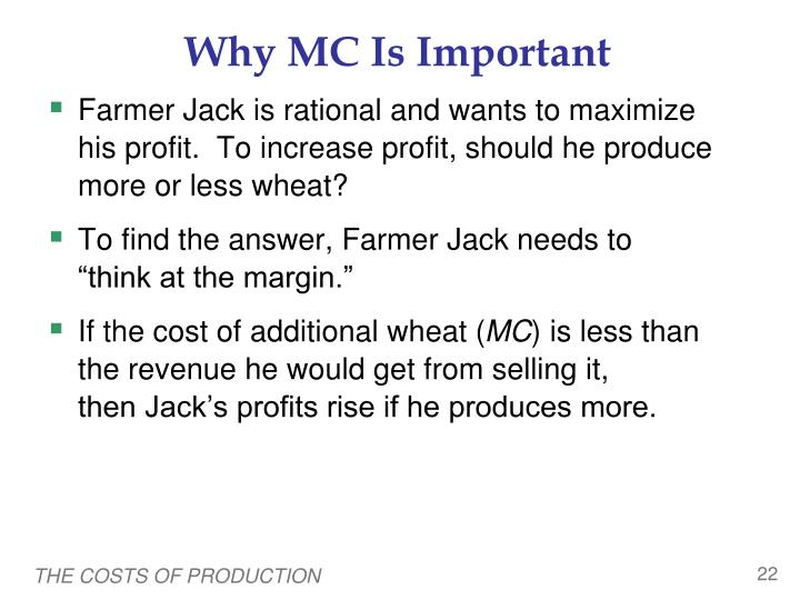 Why MC Is Important