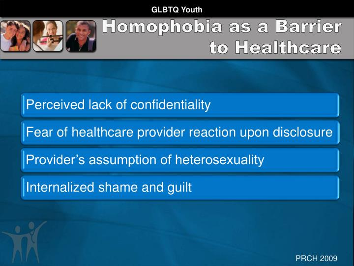 Homophobia as a Barrier to Healthcare