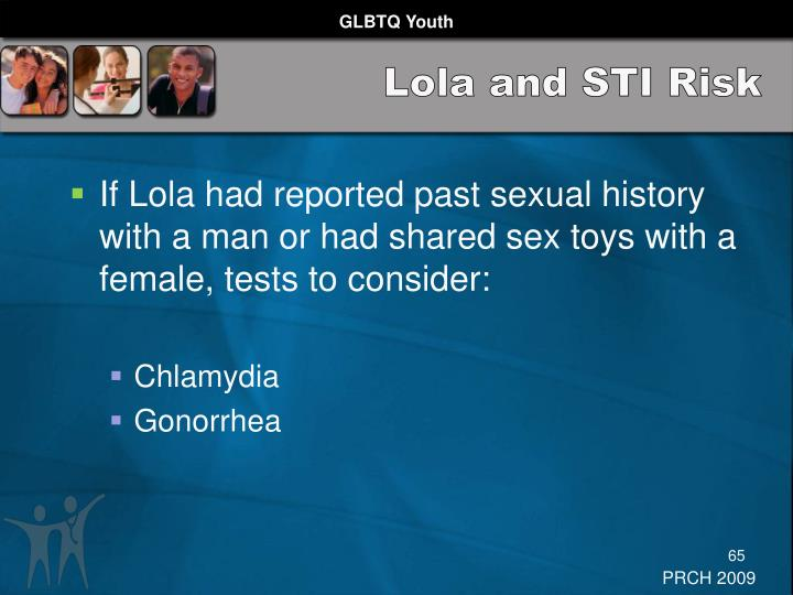 Lola and STI Risk
