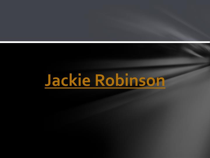 Jackie Robinso