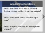 application questions1