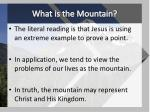 what is the mountain