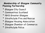 membership of glasgow community planning partnership