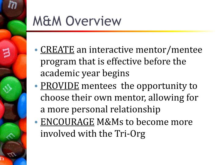 M&M Overview