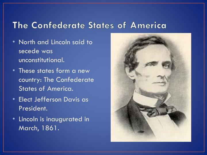 The Confederate States of America