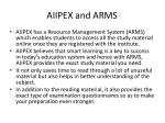 aiipex and arms