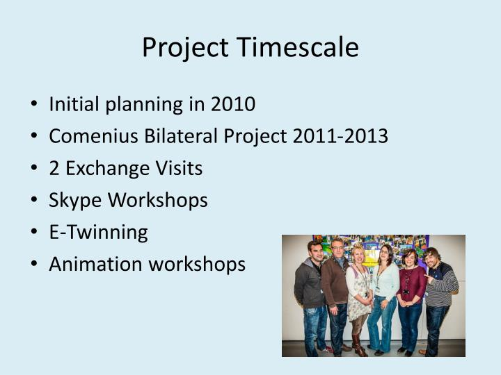 Project timescale