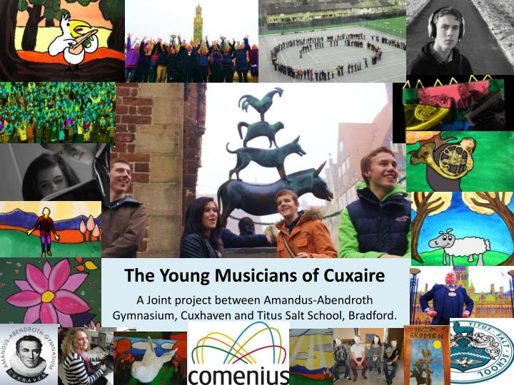 The young musicians of cuxaire