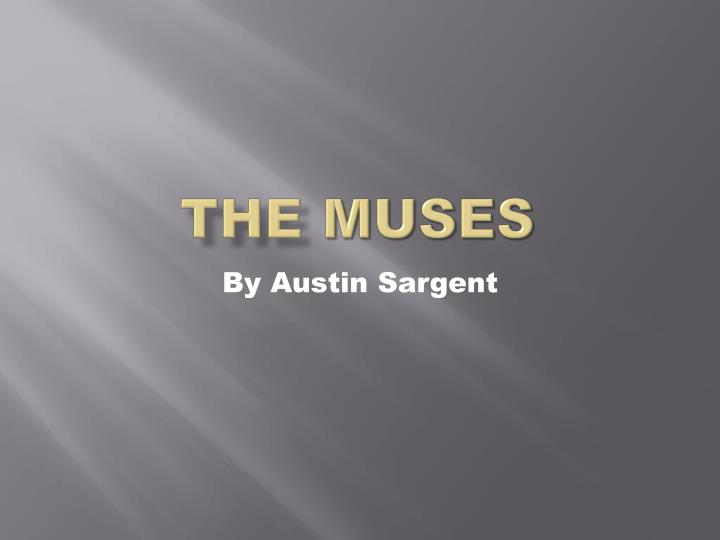 the muses n.