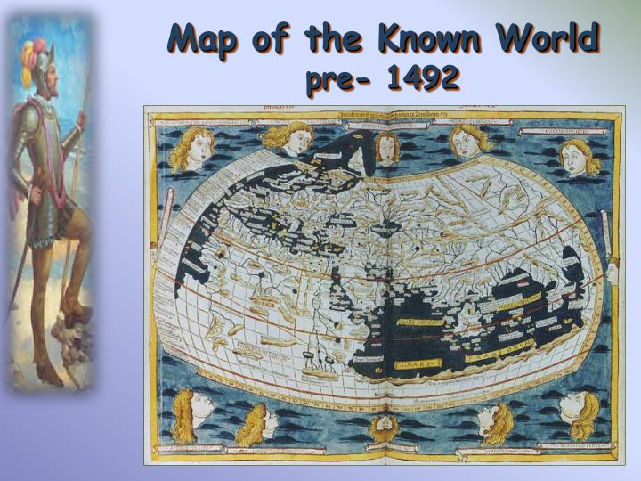 Map of the Known World