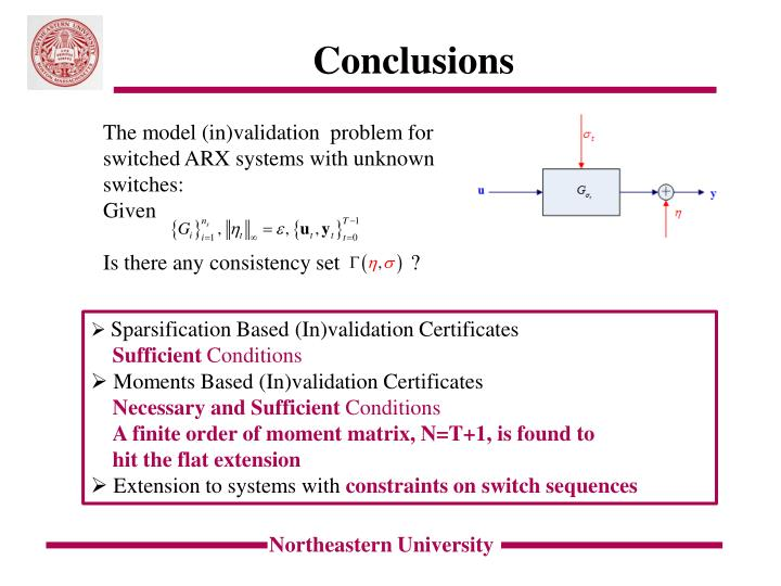 The model (in)validation  problem for switched ARX systems with unknown switches: