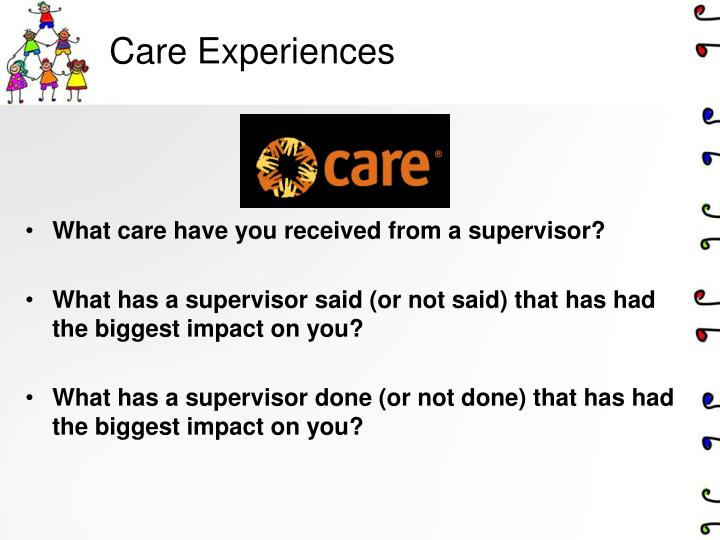 Care Experiences