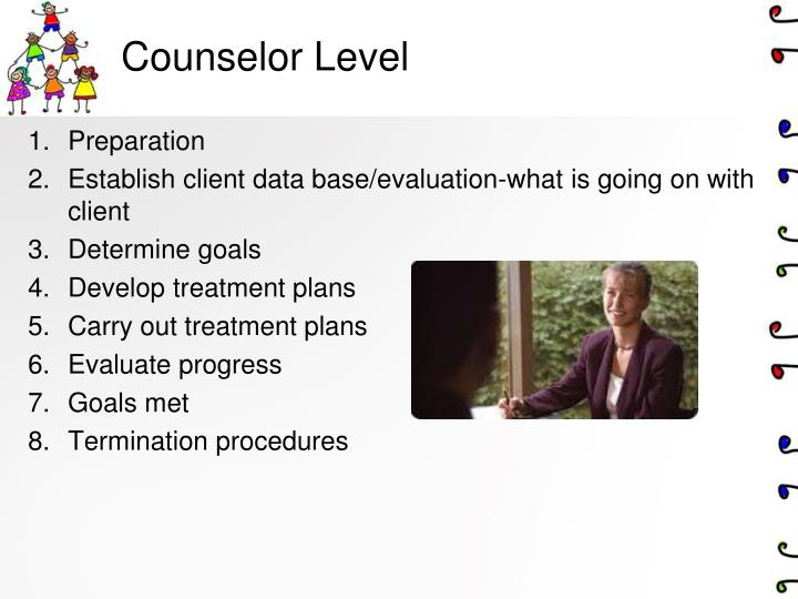 Counselor Level