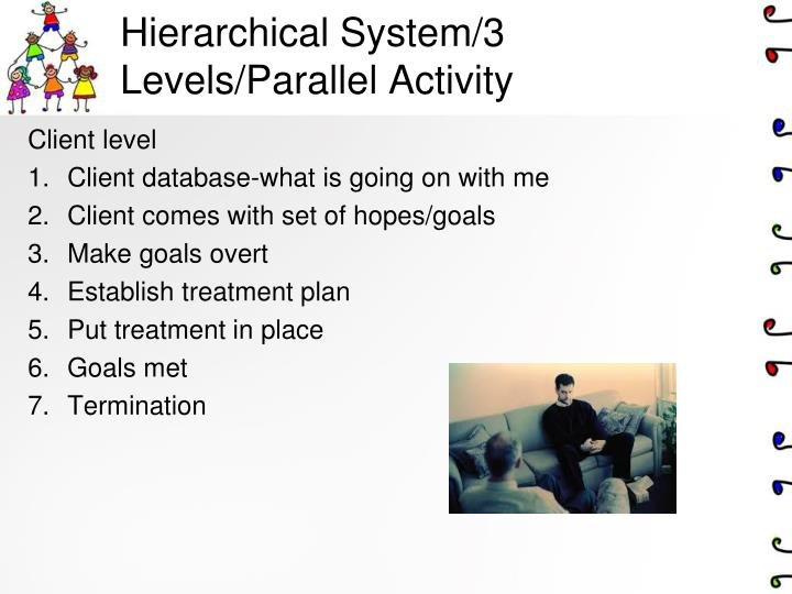 Hierarchical System/3 Levels/Parallel Activity
