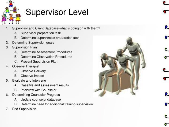 Supervisor Level