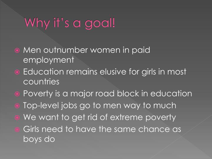 Why it's a goal!