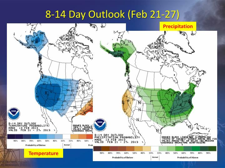 8-14 Day Outlook (Feb 21-27)