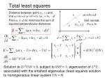 total least squares2