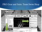 pro gear and suits team swim shop