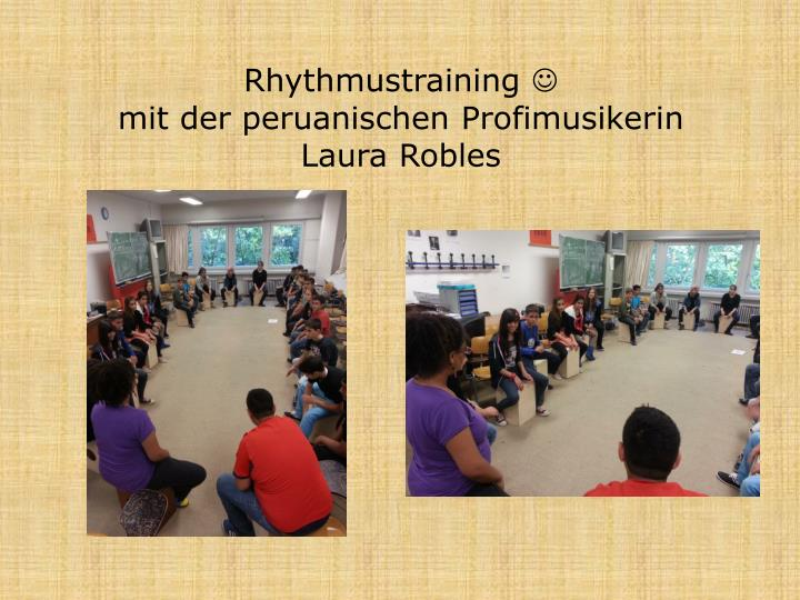 Rhythmustraining