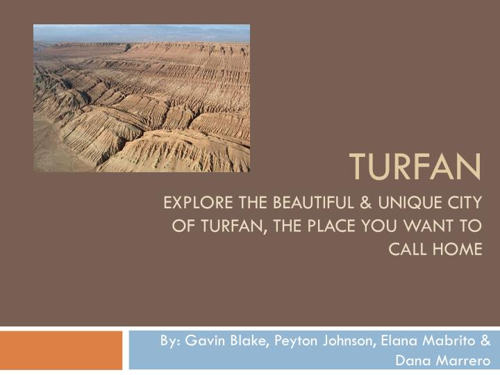 turfan explore the beautiful unique city of turfan the place you want to call home