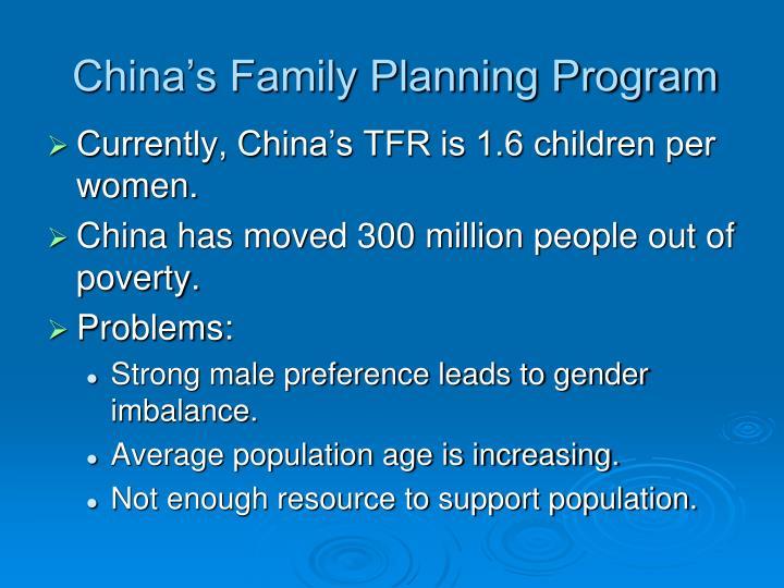 China's Family Planning Program