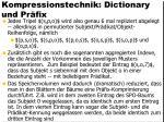 kompressionstechnik dictionary und pr fix