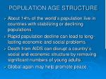 population age structure4