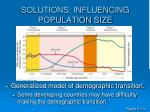 solutions influencing population size1