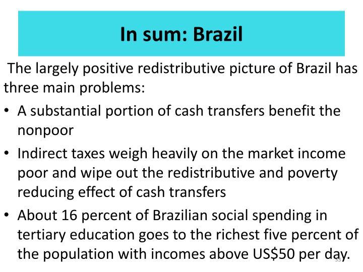 In sum: Brazil