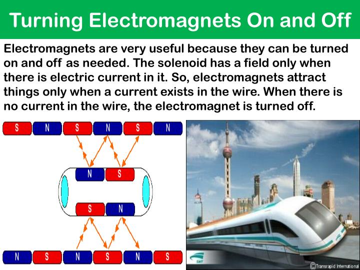 Turning Electromagnets On and Off