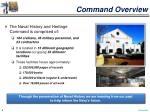 command overview