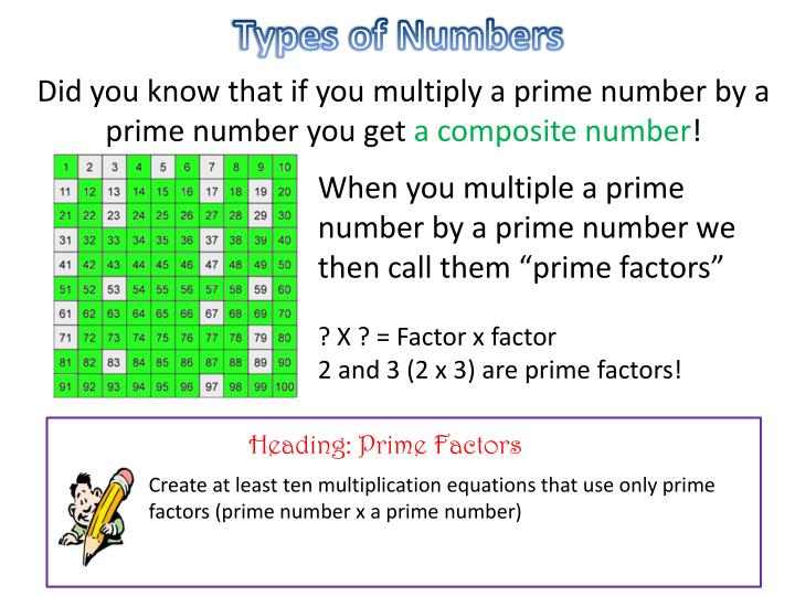 Types of Numbers