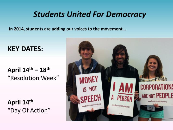 Students United For Democracy